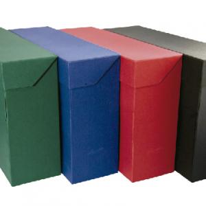 Cajas transferencia, Archivo definitivo, ficheros, indices y fichas